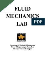 FLUID MECHANICS lab manual.docx