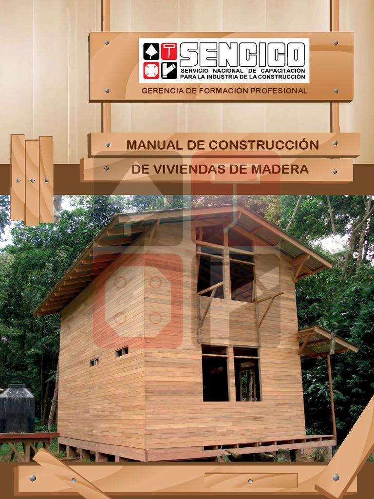 Manual Vivienda Madera