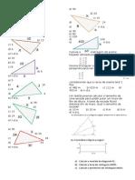 2º Ano Exercicio Teorema de Pitaoras