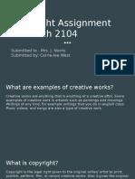 copyright assignment 2104
