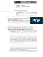 Modelo escrito de subsanacion de observaciones proceso tenencia