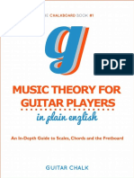 Music Theory for Guitar Players in Plain English - Bobby Kitteberger