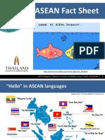 Asean Fact Sheet