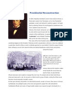 PresidentialReconstruction