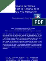 Seminario de Temas Selectos de La Historia De