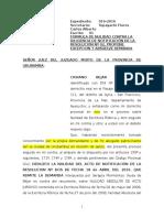 modelo escrito de contestacion demanda Nulidad Acto Juridico