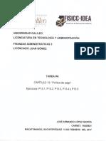 Tarea 4 - Finanzas Administrativas 3