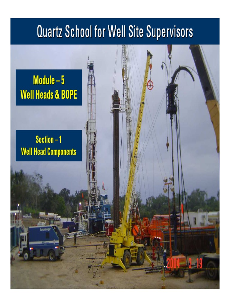 01 Well Head Components | Casing (Borehole) | Steel