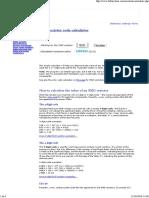 SMD Resistor Code Calculator