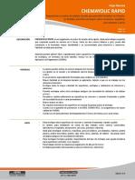 Chemayolic-rapid Ficha Tecnica