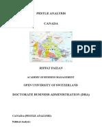 Riffat Faizan_ Canada PESTLE