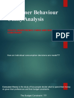 4.Consumer Behaviour Utility Analysis