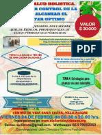 Poster Delc Urso Como Tomar Control de Salud y Alcanzar El Bienestar Optimo