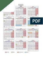 2017 Operational Calendar En