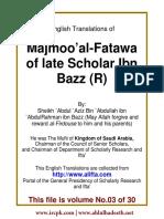 En 03 Majmoo AlFatawa IbnBaz