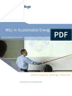 MSc SEF Brochure