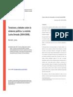 Bartoletti, Julieta (2009). La Revista Lucha Armada