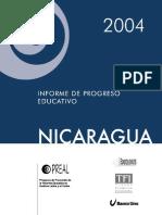 Informe de Progreso Educativo 2004