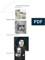 Grandes Físicos de La Historia