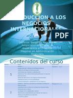 Introduccion a Los Negocios Internacionales Monteria Lunes Tutoria 1