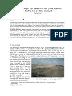 Rohri Hills Sites