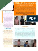 portfolio4 intasc standard 4 content knowledge