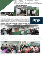 Informativo Mensal Da Escola Estadual Professor Celso Antonio Nº 01