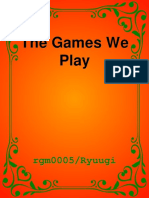Ryuugi - The Games We Play