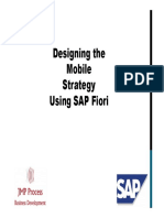 Sap Fiori Approach