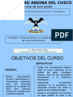 Control y Vigilancia Del Agua UAP