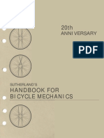 Handbook for Bicycle Mechanics by Howard Sutherland