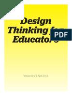72087216 Design Thinking for Educators