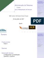 Aula10 - Introdução à Administração de Sistemas Linux