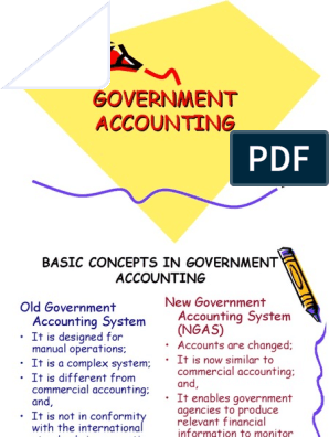 types of government accounting