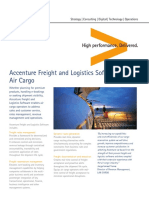 Accenture Freight and Logistics Software Solution