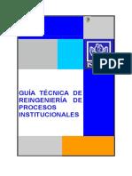 GUIA TECNICA DE REINGENIERIA DE PROCESOS INSTITUCIONALES.pdf