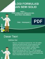PPT Preformulasi Gel