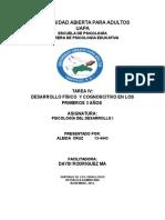 Actividad IV Psicologia Del Desarrollo i Lista