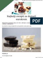 Najbolji Recepti Za Domaći Eurokrem - Gastro Priče - Gastro