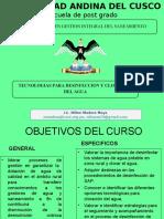 TECNOLOGIAS PARA DESINFECCION Y CLORACION 1.ppt