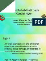 Terapi Rehabilitatif Pada Kondisi Nyeri