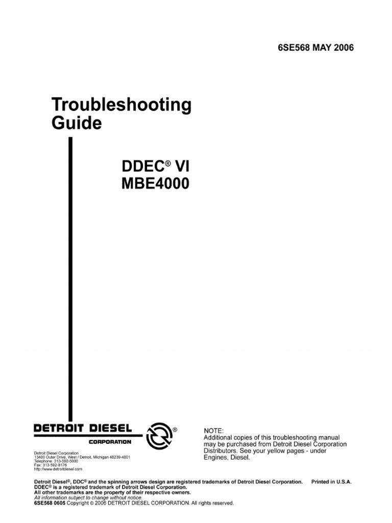 Mbe 4000 Wiring Diagram   Wiring Liry Ddec Vi Wiring Diagram on
