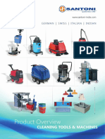 Heavy Duty Industrial Vacuum Cleaners by Santoni India
