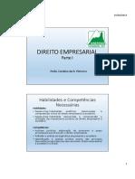 Direito Comercial Parte 1 - CRP 2015 PDF