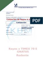 Cotización Rx
