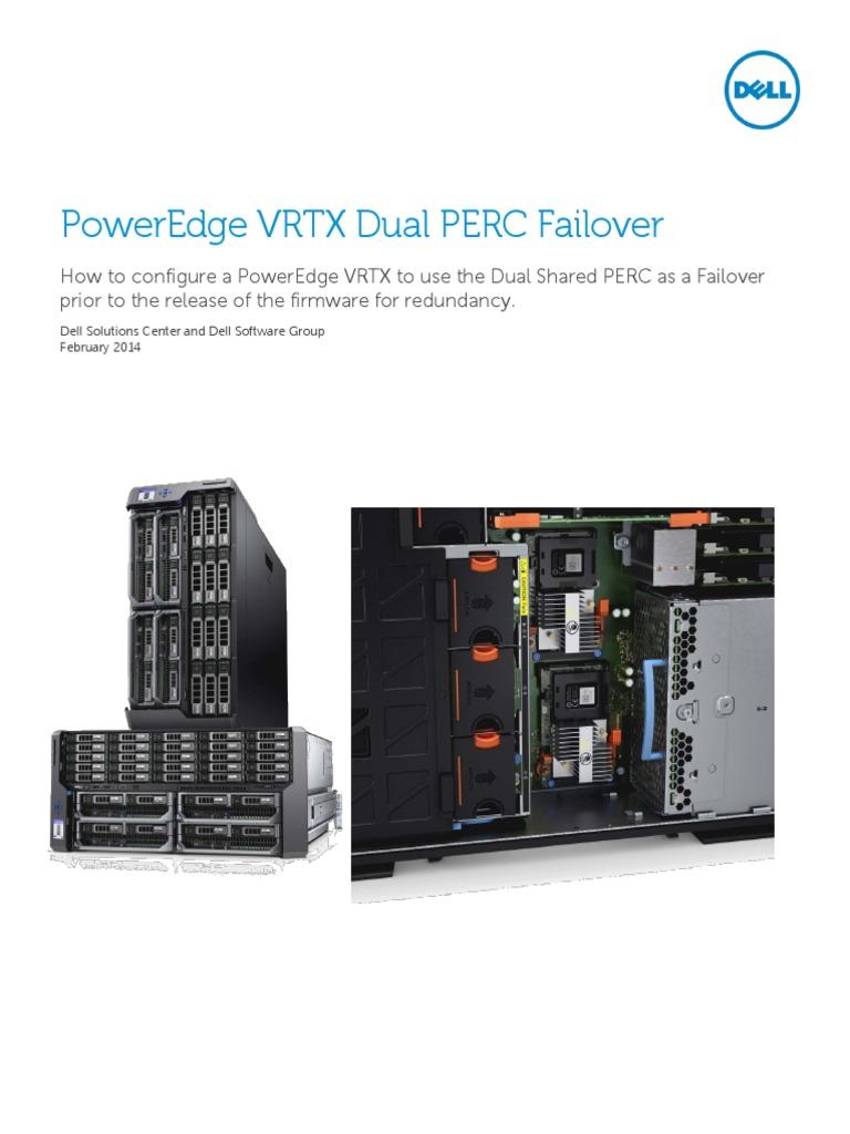 PowerEdge VRTX Dual PERC Failover | System Software | Software
