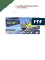 Curso Energia Solar Caseira