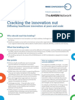 Cracking the Innovation Nut Briefing June 2015