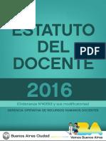 Estatuto del Docente actualizado a Octubre de 2016.pdf