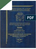 RESOLUCIÓN DE PROBLEMAS MATEMATICOS EN LOS ESTUDIANTES